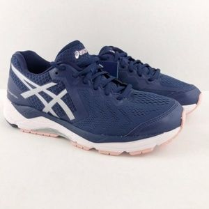 NEW Asics Gel Foundation 13 Blue Silver Pink